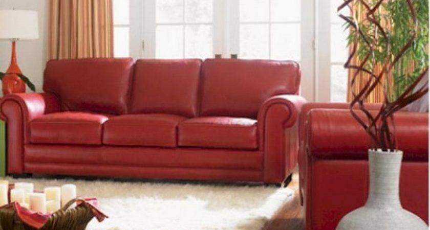 Red Leather Couch Decorating Ideas Get Furnitures Home
