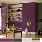 Red Living Room Color Schemes Purple Green
