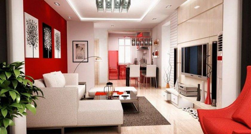 Red Living Room Decorating Ideas Decoor