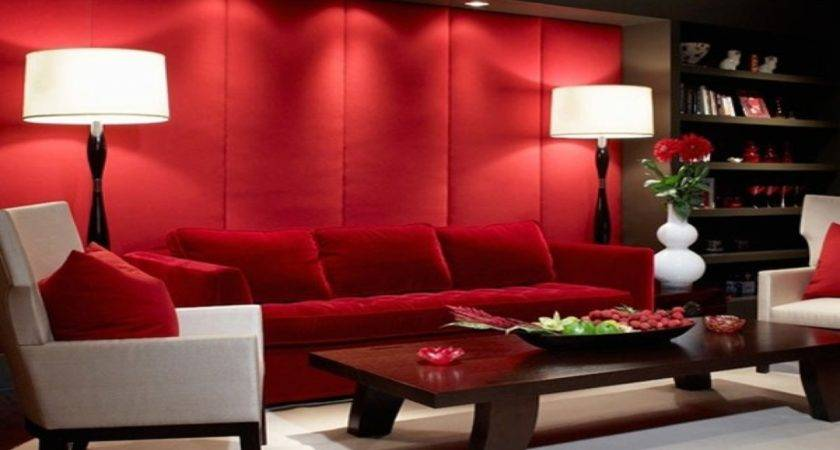 Red Living Room Paint