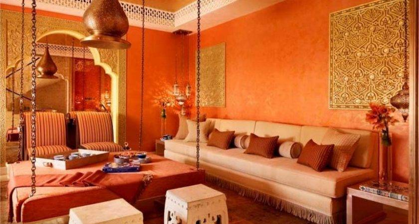 Red Orange Moroccan Room Home Design Today