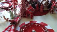 Red White Christmas Table Decorations Indiepedia