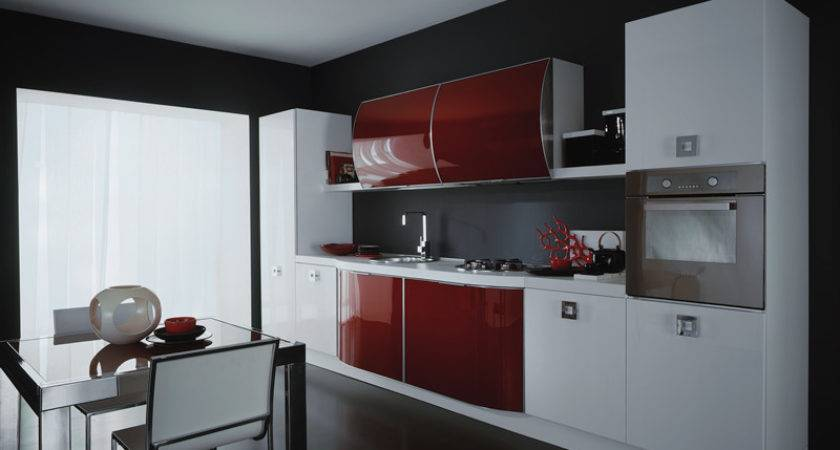 Red White Kitchen Ideas Your Home