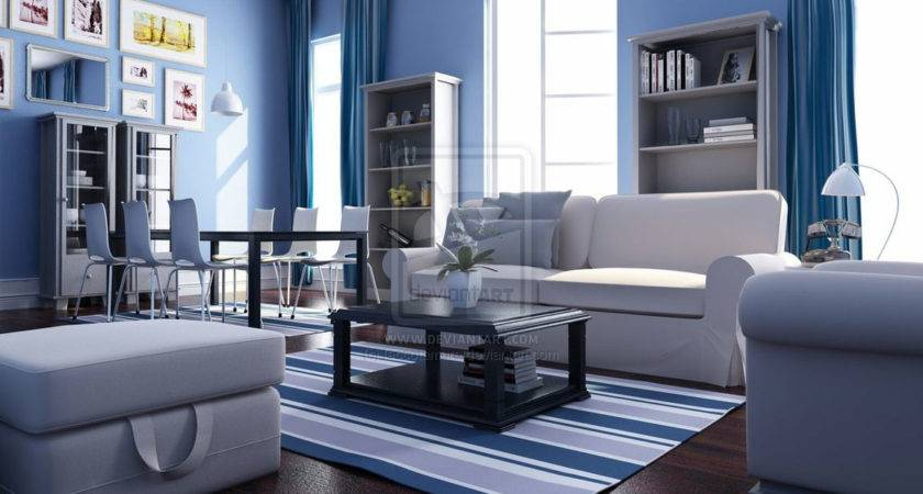 Red White Living Room Interior Theme Decosee