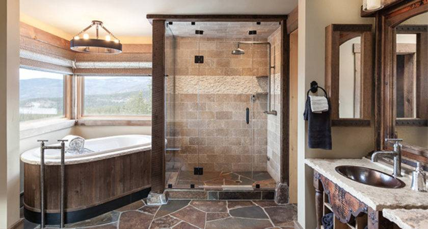 Refined Rustic Bathroom Designs Your Home