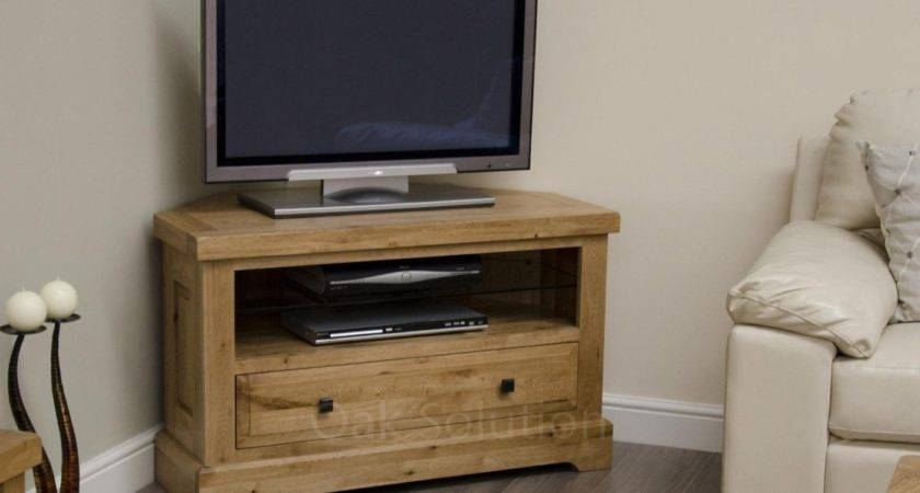 Regent Solid Oak Furniture Living Room Corner Television