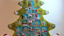 Reserved Personalized Wooden Christmas Advent Calendar