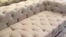 Restoration Hardware Soho Tufted Upholstered Sofa Chairish