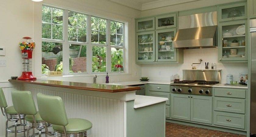 Retro Kitchens Spice Your Home
