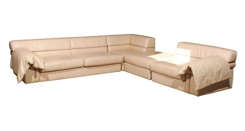 Roche Bobois Leather Sectional Sofa Stdibs
