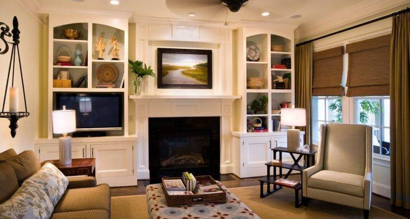 Room Cabinet Ideas Living Traditional