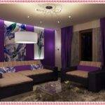 Room Colour Combination Purple