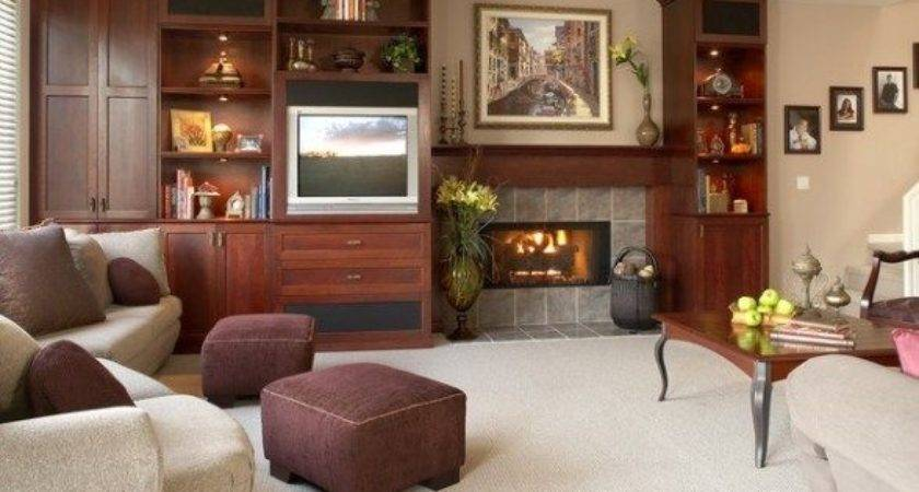 Room Design Ideas Fireplace Home Style