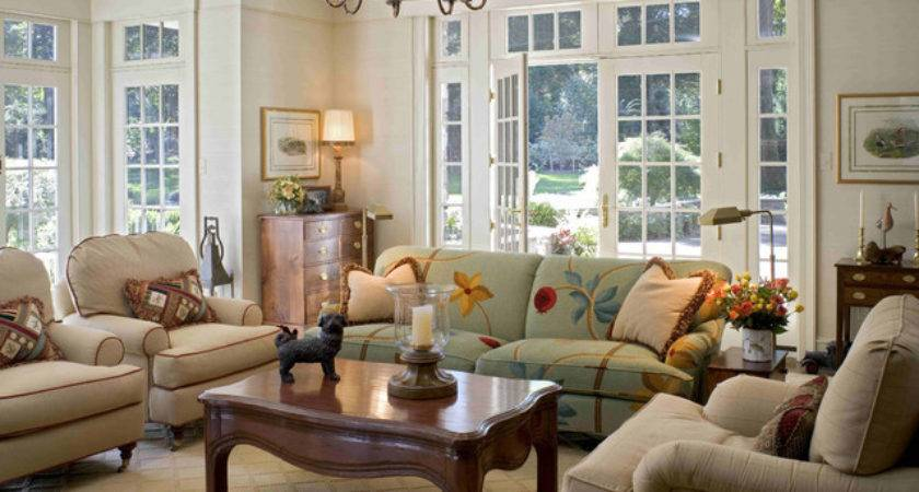 Room French Doors Traditional