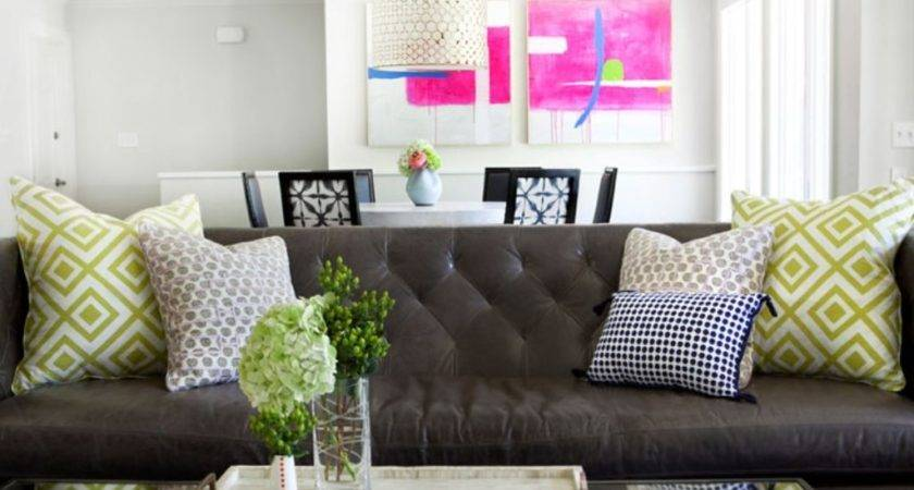Room Using Brown Couch Decor Cookwithalocal Home