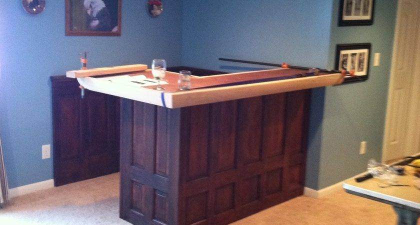 Roxanne Recycles Build Home Bar Budget