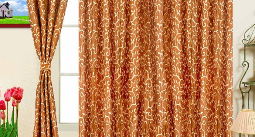 Rust Colored Curtains Designs