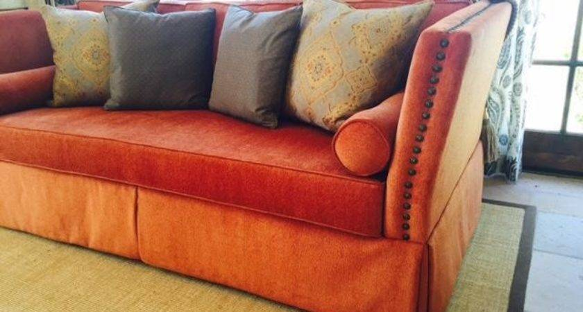 Rust Colored Sofa Best Couch