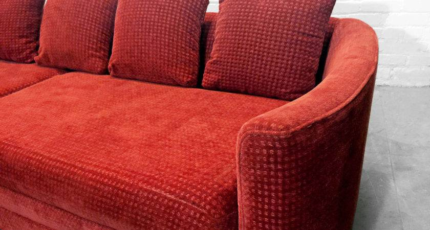 Rust Colored Sofa Cort Indianapolis Ryder