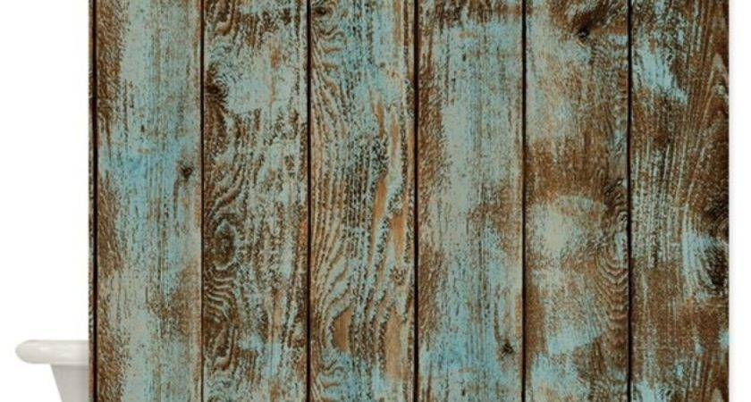 Rustic Boards Shower Curtain Simpleshopping