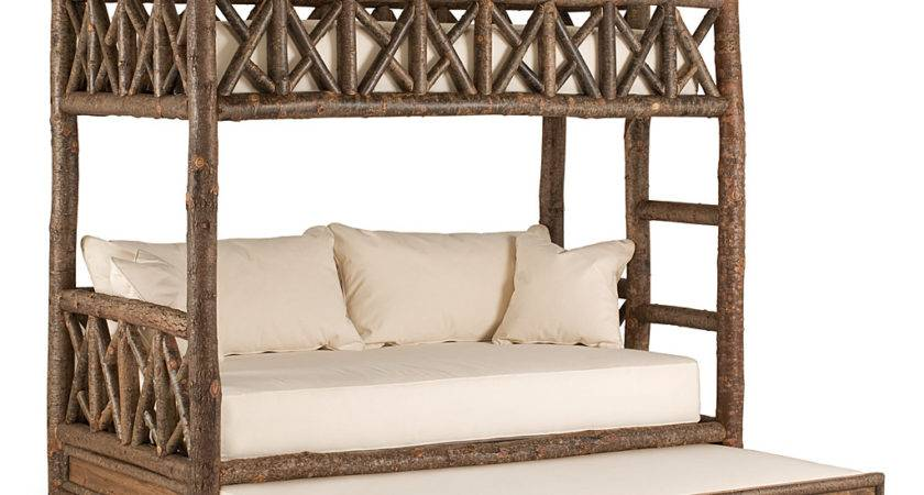 Rustic Bunk Bed Trundle Lune Collection