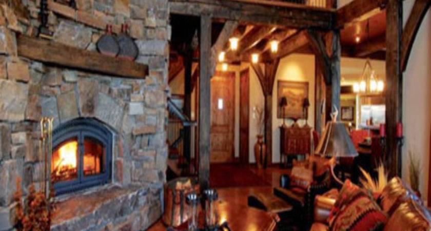 Rustic Cabin Interiors Affordable Awesome