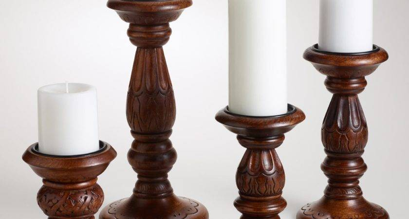 Rustic Candle Holders Home Lighting Design Ideas