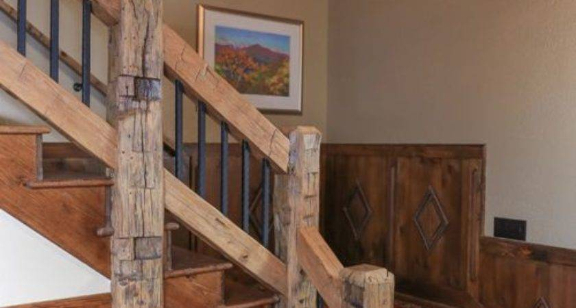 Rustic Charlotte Staircase Design Ideas Remodels Photos