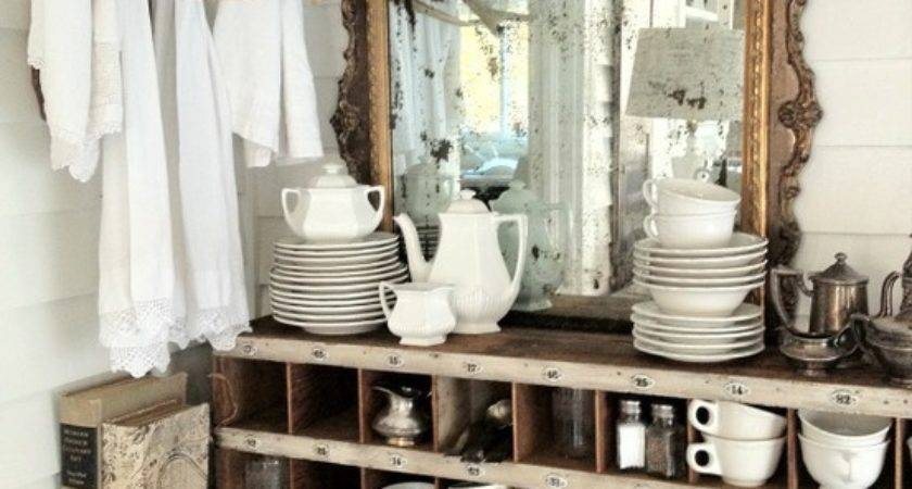 Rustic Chic Decorating Ideas Shabby Kitchen
