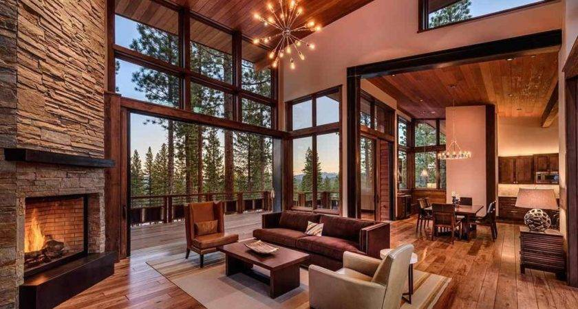 Rustic Contemporary Living Room Designs Home Decorations