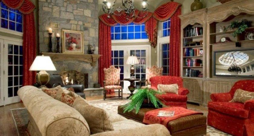 Rustic Country Living Room Decorating Ideas