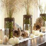 Rustic Dining Room Tables Chairs Fall Table Settings