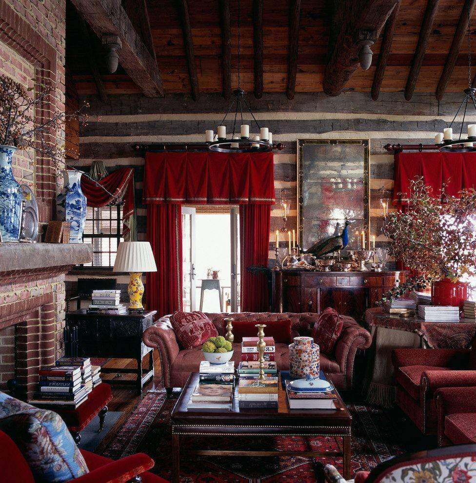 22 Eclectic Porch Ideas: Rustic Eclectic Decor Bedroom Traditional Decorative