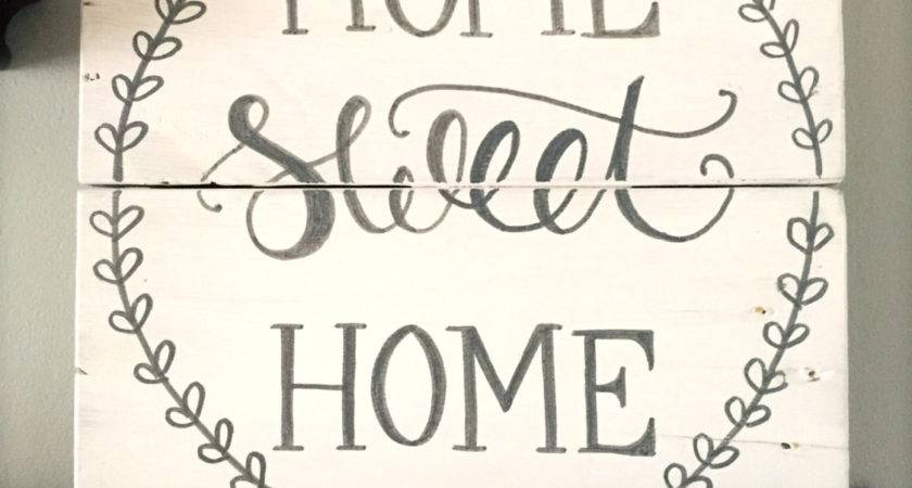 Rustic Home Decor Sweet Sign Pallet