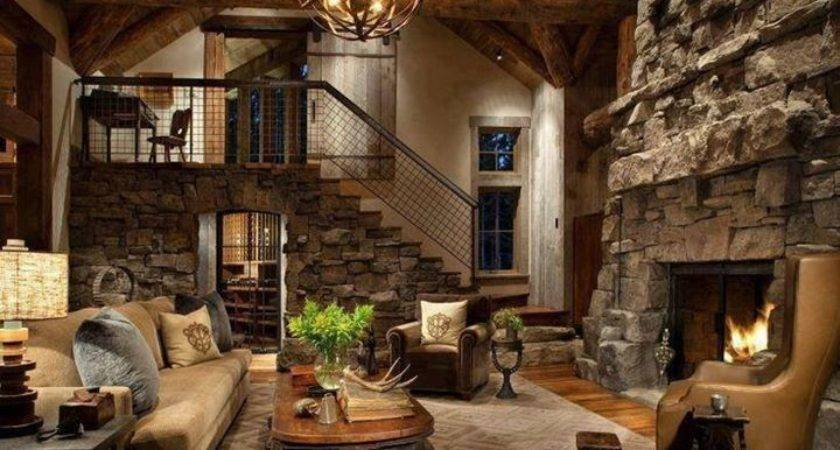 Rustic Home Interior Design Inspiration