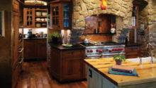 Rustic Kitchen Rich Accents