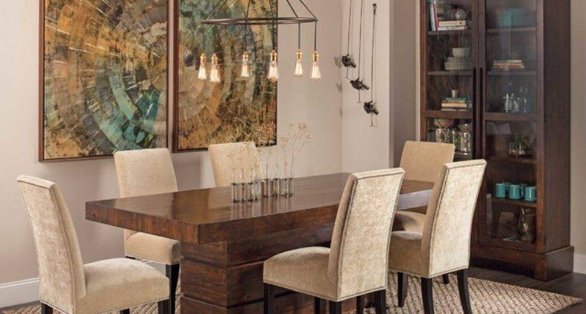 Rustic Modern Tahoe Dining Table Eclectic