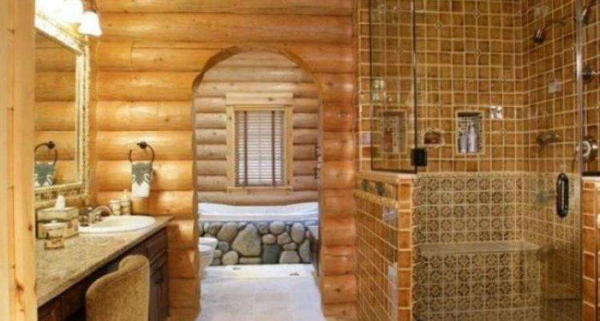 Rustic Style Interior Cottage
