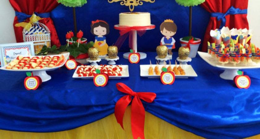 Samantha Snow White Birthday Project Nursery