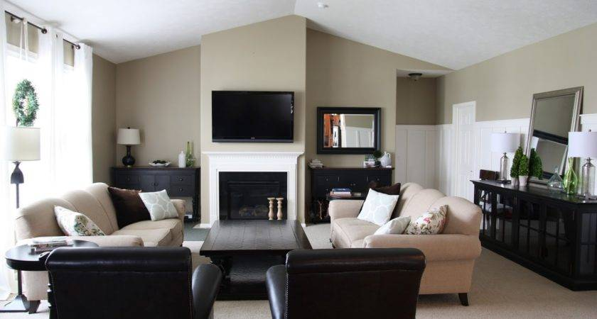 Sand Color Paint Living Room