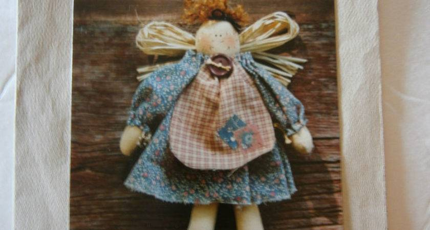 Sarah Ann Tall Primitive Country Doll Craft Sewing