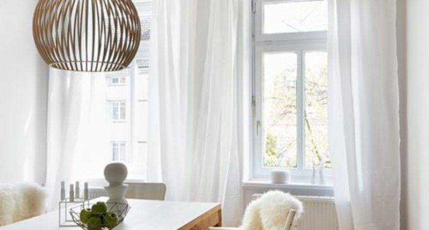 Scandinavian Curtain Sheers Home Design Photos Decor Ideas