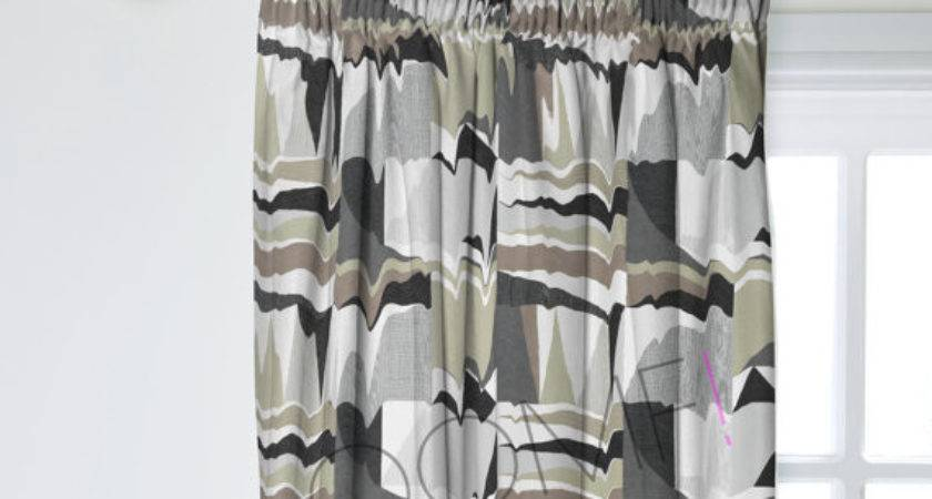 Scandinavian Curtains Custom Lined Oomfinteriors