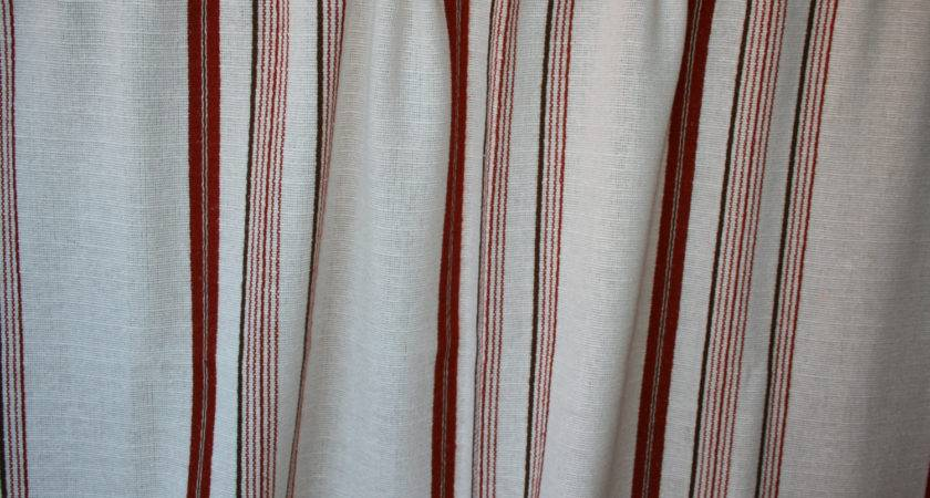 Scandinavian Vintage Handmade Woven Curtains Becausevintage