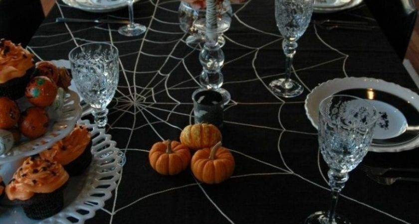 Scary Halloween Table Decorations Decorationy