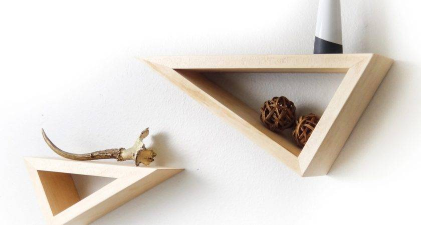 Seize Every Corner Small Room Wall Mount Shelf Home