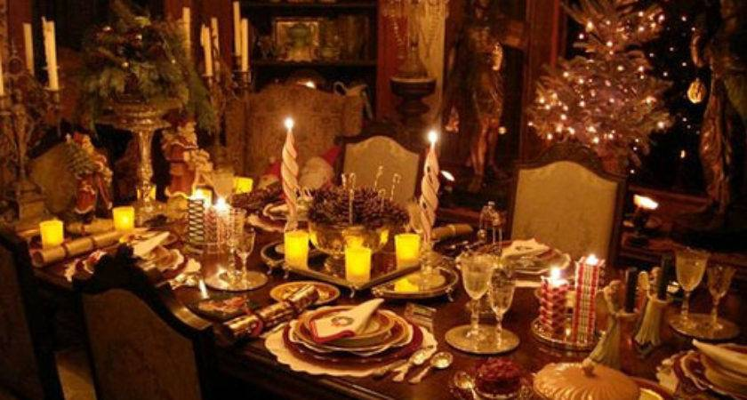 Set Perfect Christmas Dinner Table Foodie