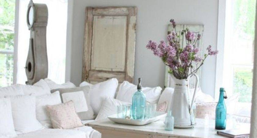 Shabby Chic Style Living Room Design Ideas Renovations