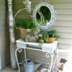 Shabby Chic Terrace Design Victorian Charm Digsdigs