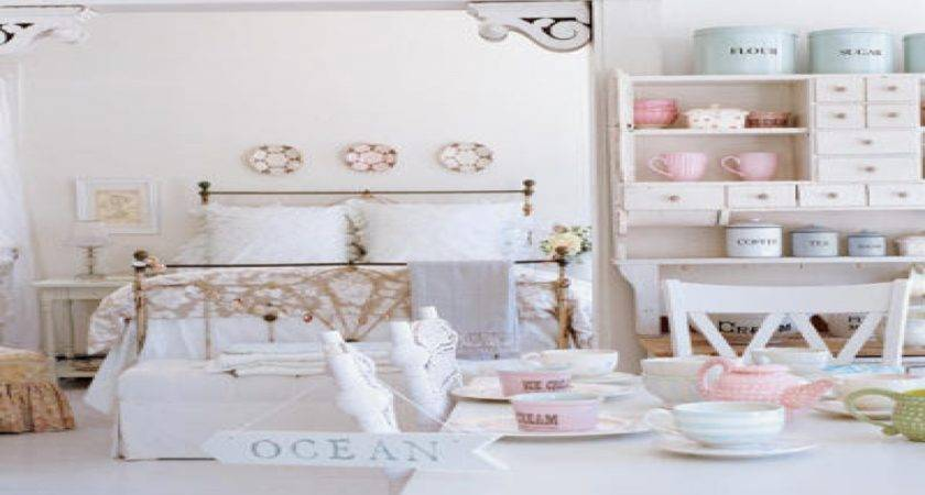 Shabby Chic White Bedroom Home Decor Ideas